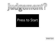 Judgement?