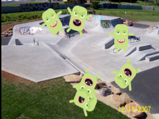 Monster Skate: by Zach