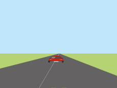 3D road