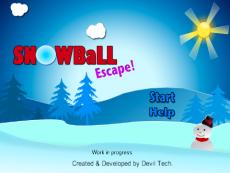 Snow ball escape!