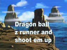 Dragon Ball Z double feature game.