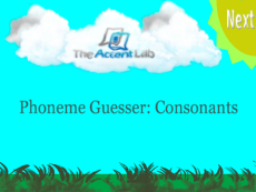 Phoneme Guesser: Consonants