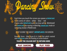Dancing Snow