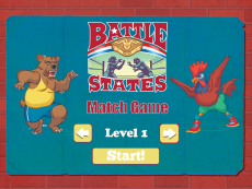 BattleStates Match Game