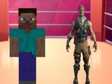 Fortnite vs Minecraft