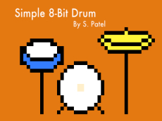 Simple 8-Bit Drum