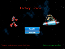 Jacob Boone's Factory Escape game