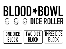 Bloodbowl Dice Roller