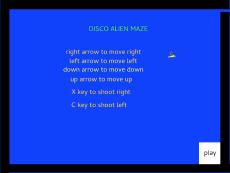 Disco Alien Maze