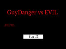 GUYDANGER VS EVIL - The back-up