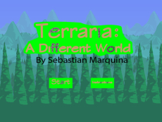 Terraria: A different World (MarquinaS_Platform Game_MHS)