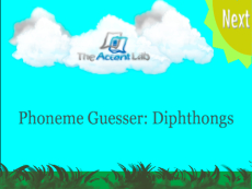 Phoneme Guesser: Diphthongs