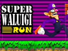 Super Waluigi Run