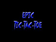 EPIC TIC-TAC-TOE!