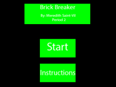 SaintVilM_Brick_Breaker