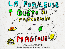 La fabuleuse quête du parchemin magique