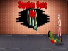 Zombie beat up