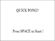 QUICK PONG!