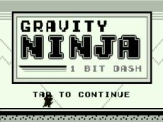 Gravity Ninja: 1-Bit Dash