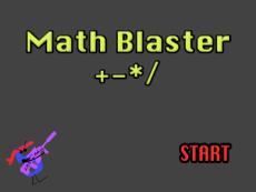 Math Blaster +-*/