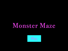 Zachary Mcphearson Monster Maze