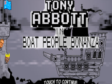 Tony Abbott in Boat People Bonanza