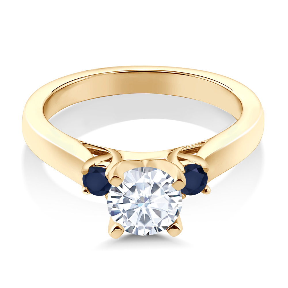 lighter moissanite topic co sapphire blue