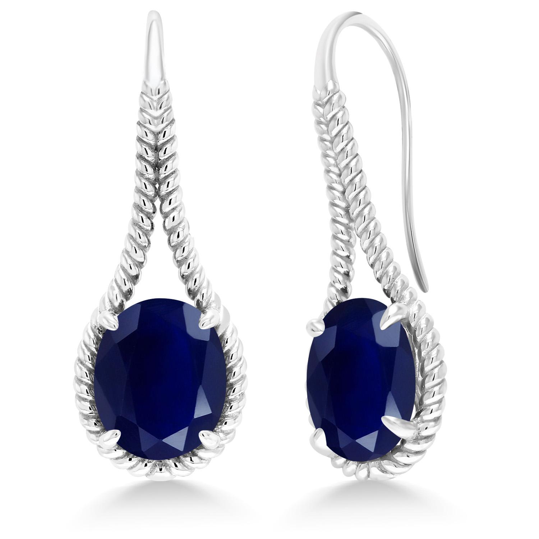 Gem Stone King 4.10 Ct Twilight Orange Mystic Quartz White Created Sapphire 925 Silver Ring
