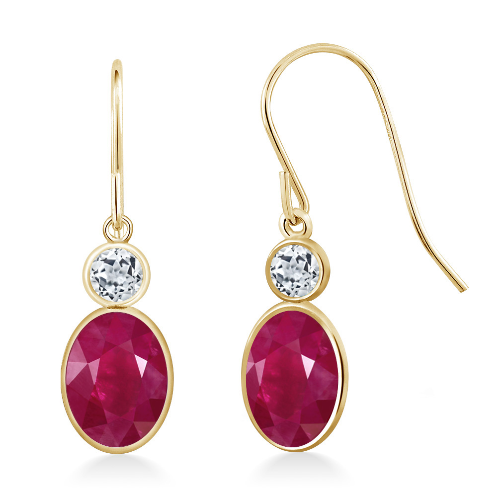 ruby round fullxfull products vintage stud red qnrf il gold earrings
