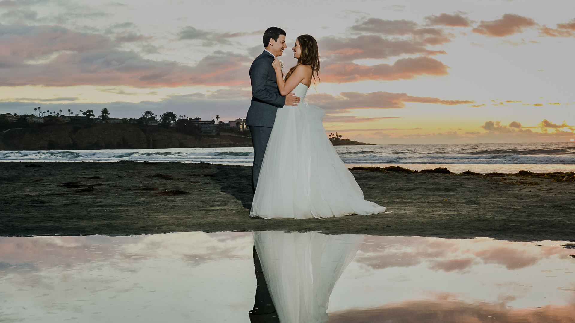 Check portfolios, pricing and availability for wedding photographers in San Diego