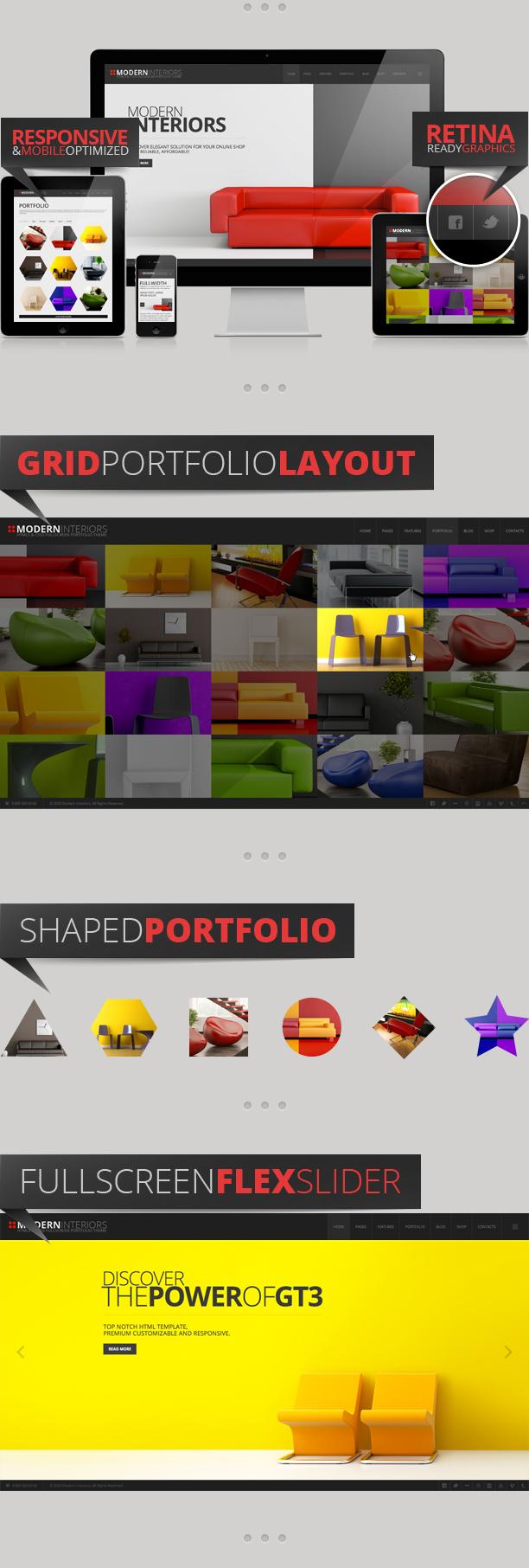 Modern Interior Responsive Web Template