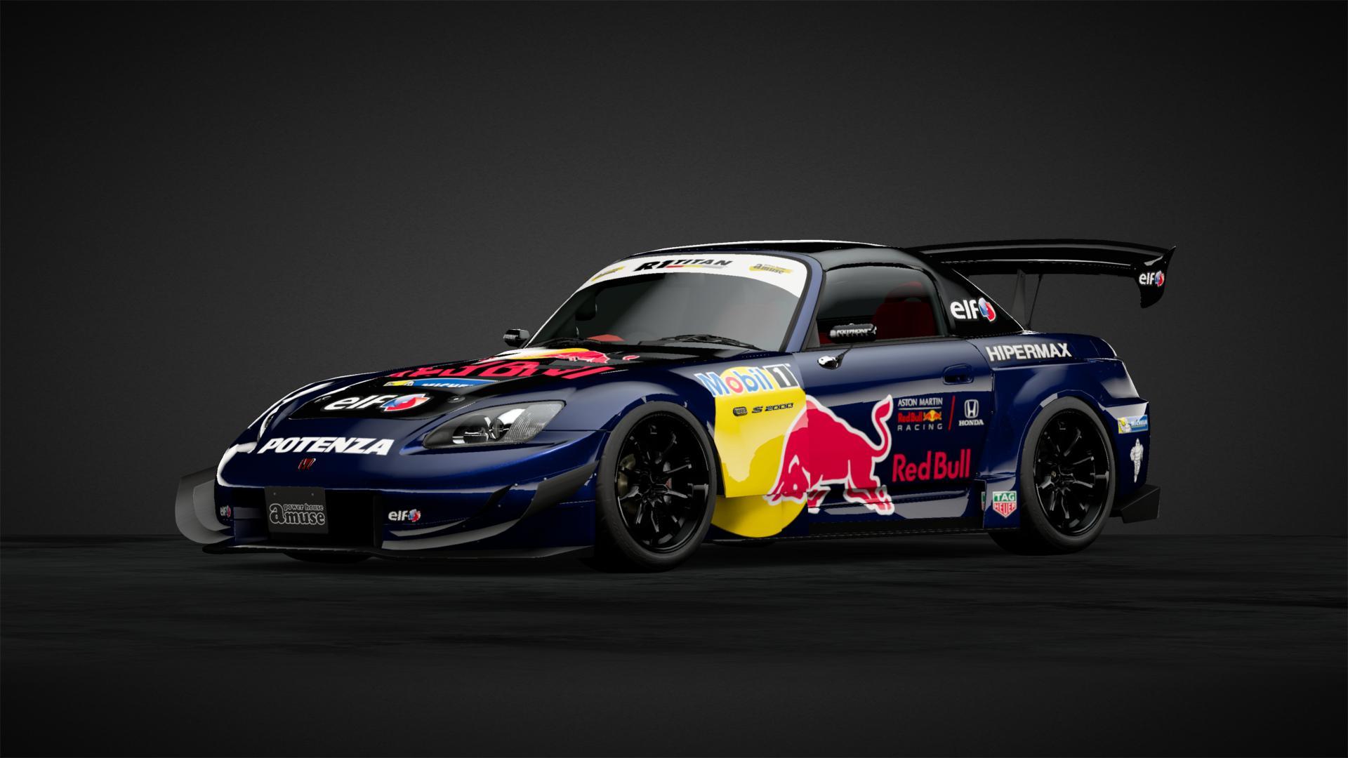 Nuevo Diseño Amuse Red Bull Apariencias De Autos De