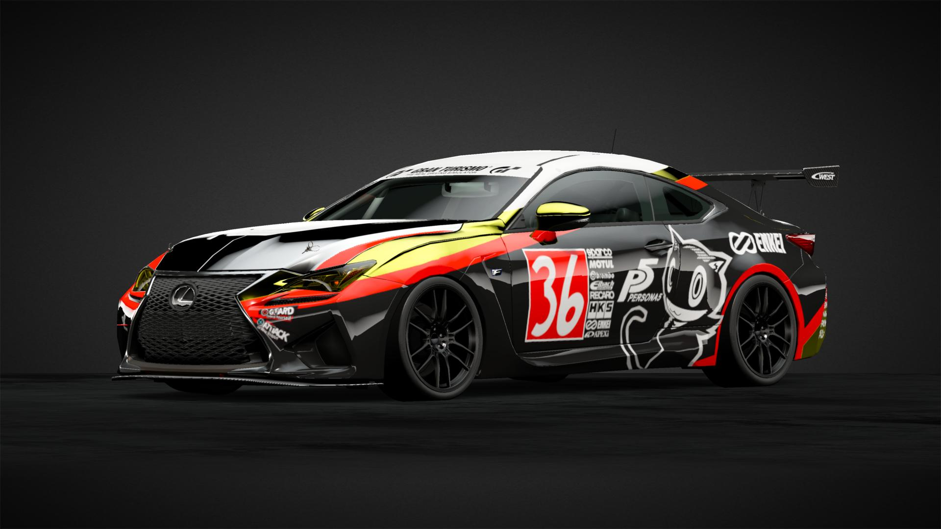 Layered Stripes Persona 5 Car Livery By Shickdits Community