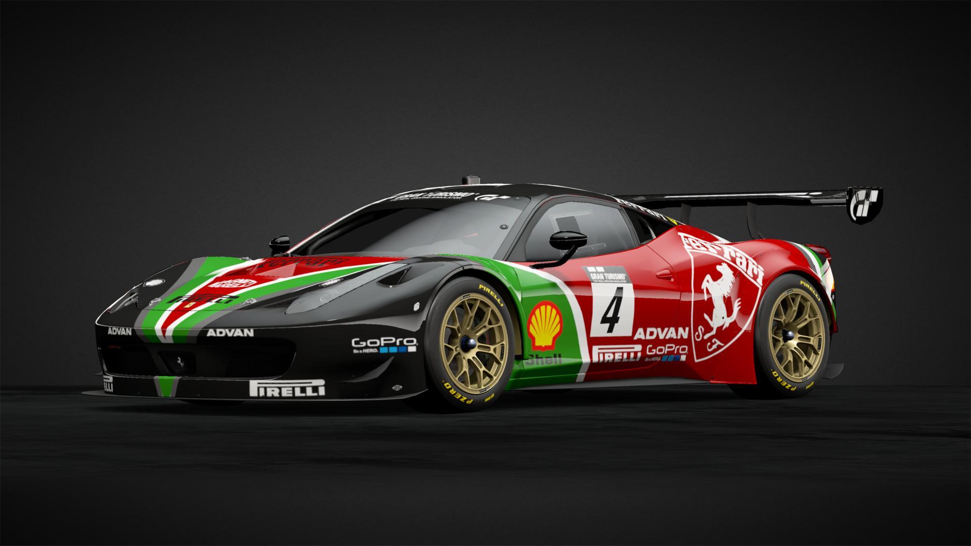 Custom Ferrari 458 Italia Gt3 Car Livery By Rogholmespne1880