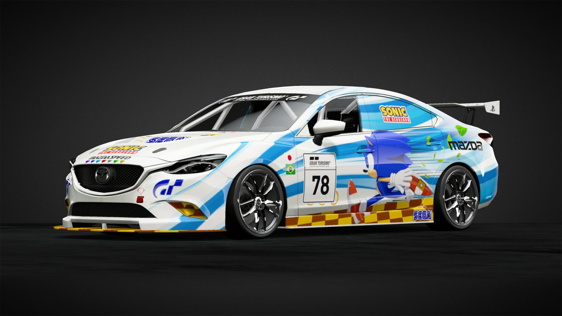 Sonic The Hedgehog Tribute Car Livery By Alanfigalo Community Gran Turismo Sport