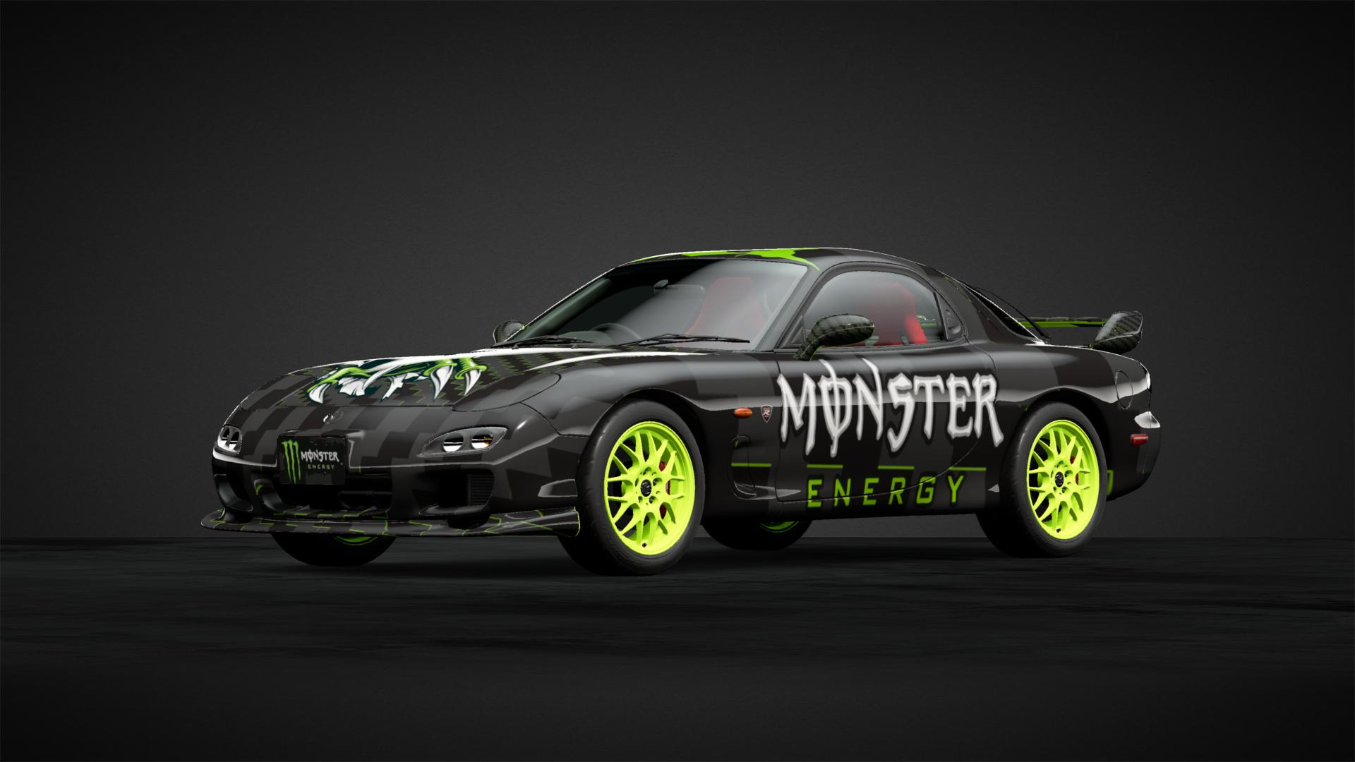 Monster RX7 - Car Livery by UPINSMOKEGUY_90 | Community