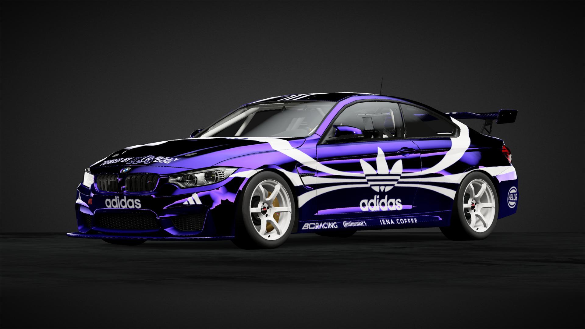 BMW M4 Adidas