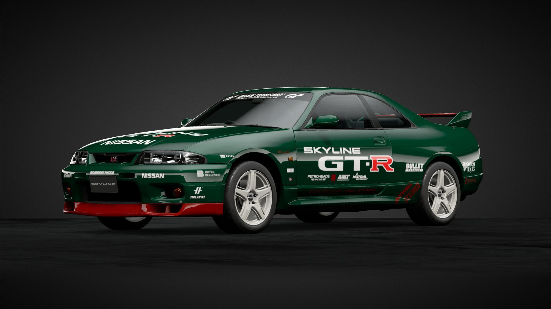 Gt1 race mod 4 car livery by theblackheadcrab community gran turismo sport