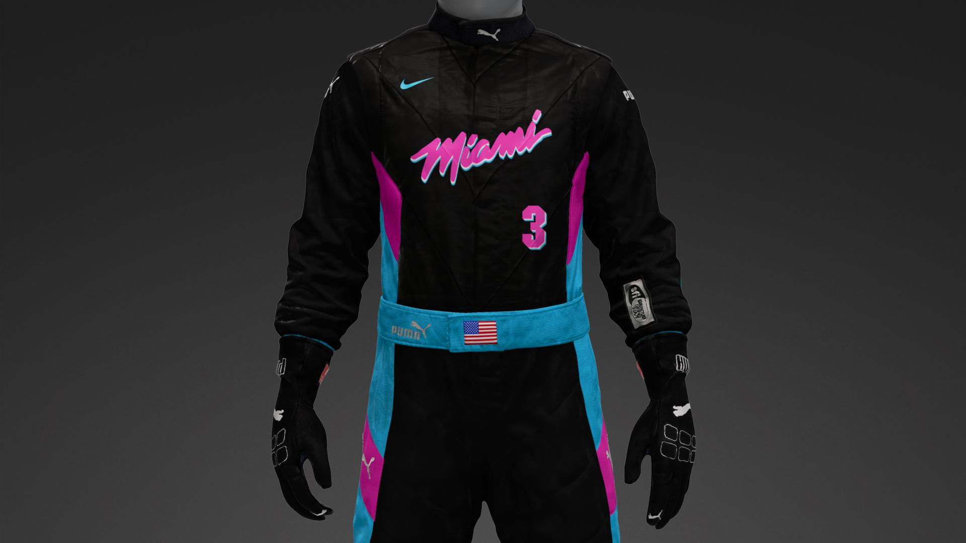 superior quality be56b 25af1 Miami heat Vice black - Suit Livery by MaraudingWalrus ...