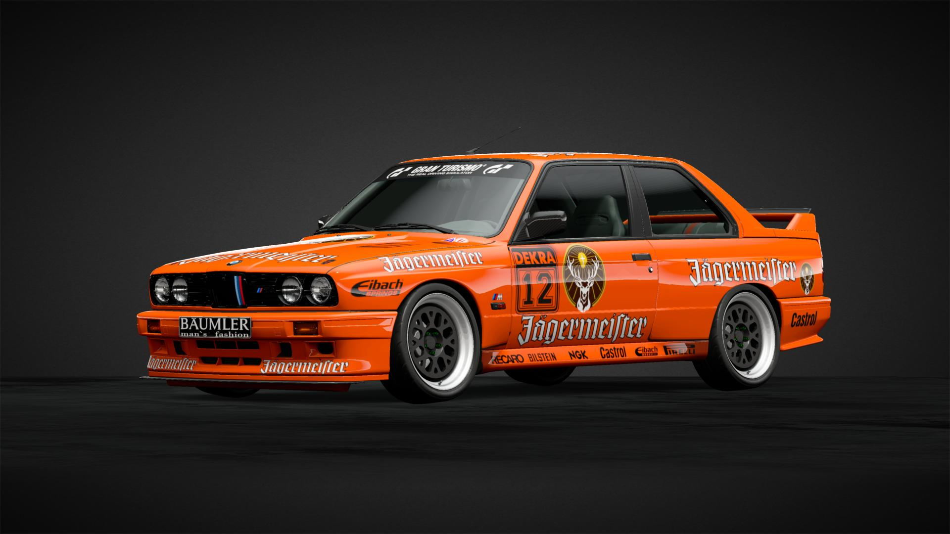 Jagermeister M3 Evolution DTM - Car Livery by xCOLOMB1ANx