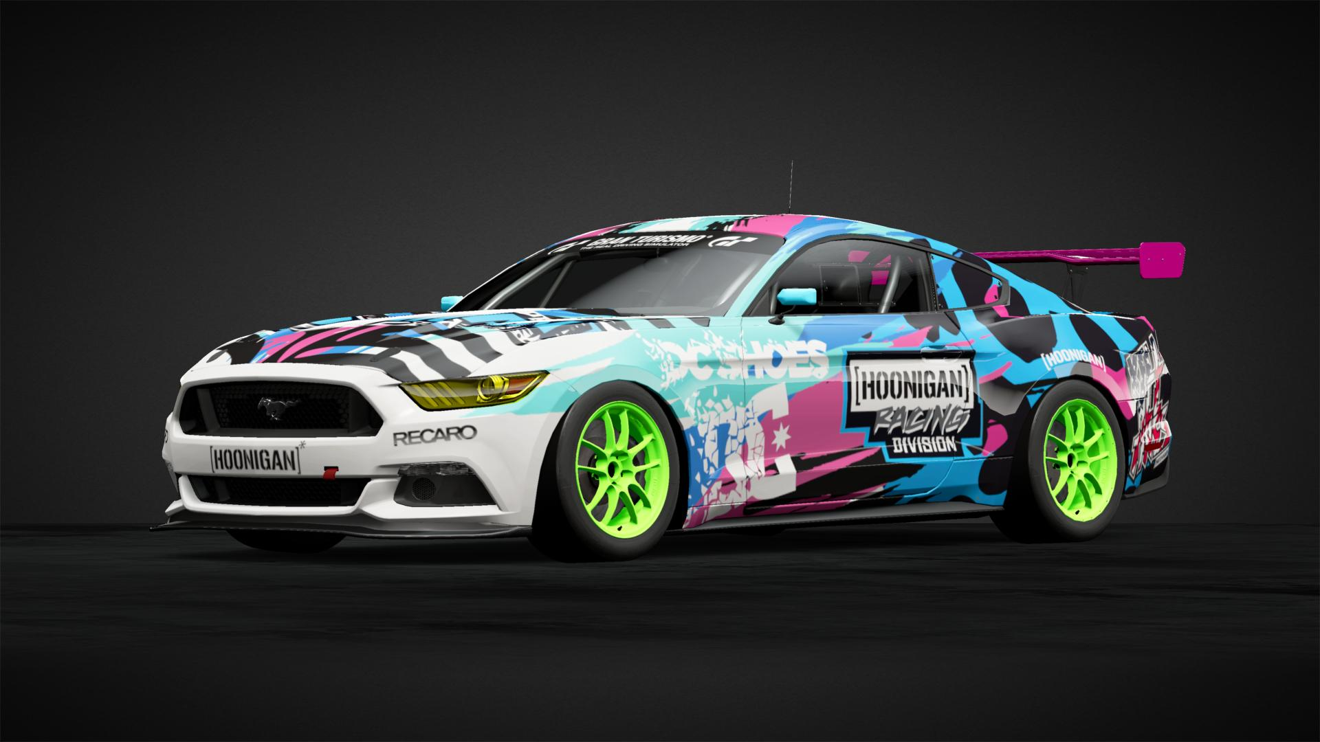 Hoonigan Mustang In La