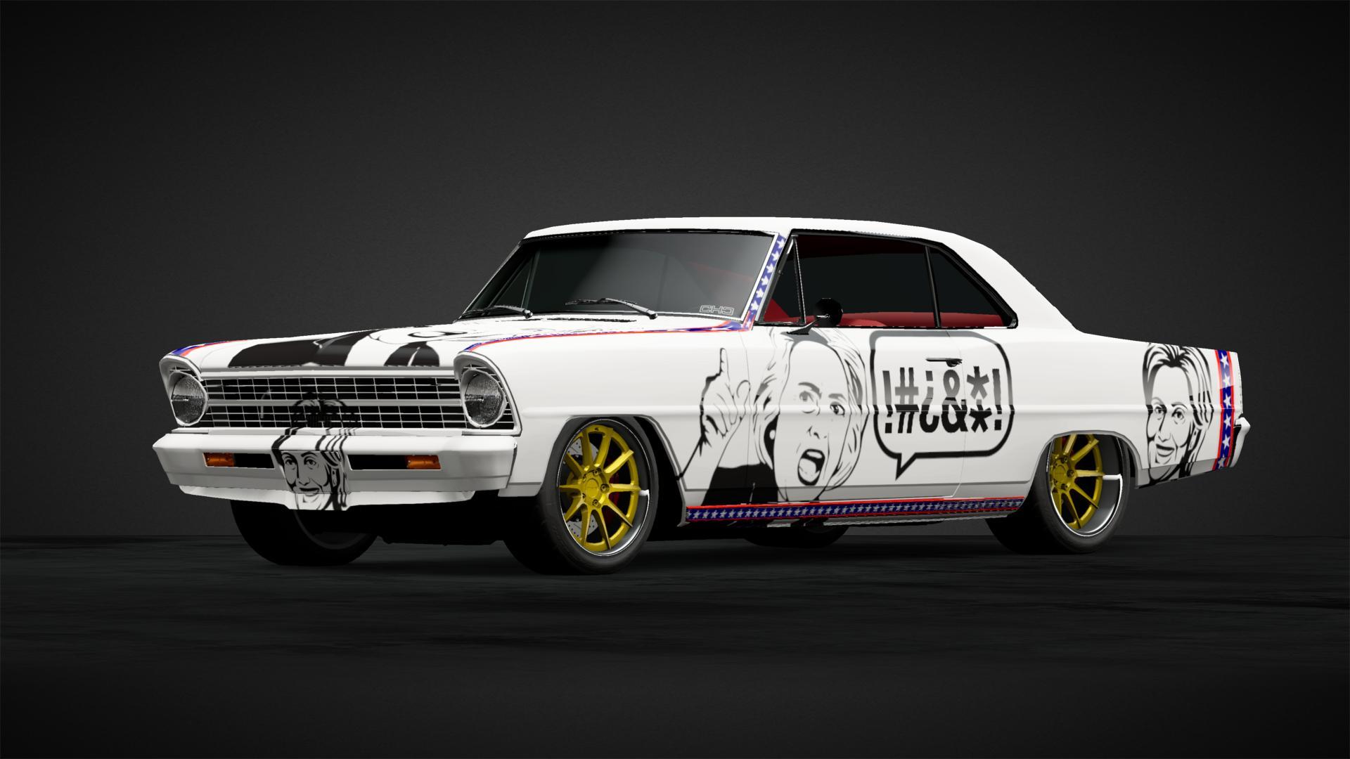 Hillary request car - Car Livery by kramenboer | Community