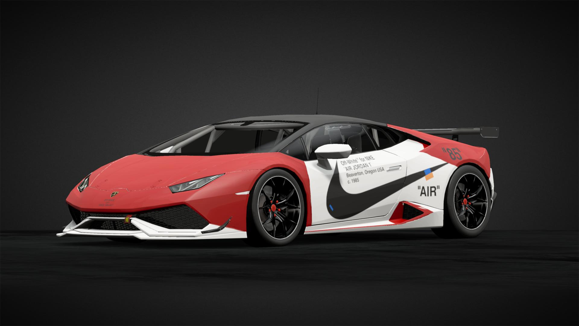 Off White X Air Jordan 1 Huracan Car Livery By Croxxon Community Gran Turismo Sport