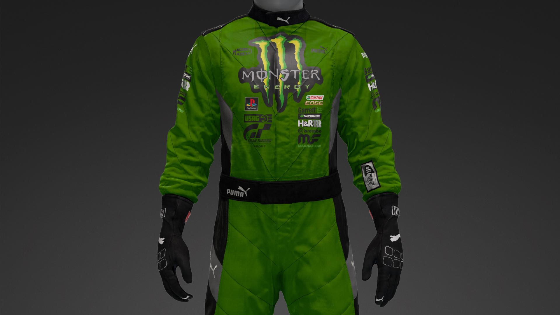Puma Monster Suit Livery By Teosax82 Munity