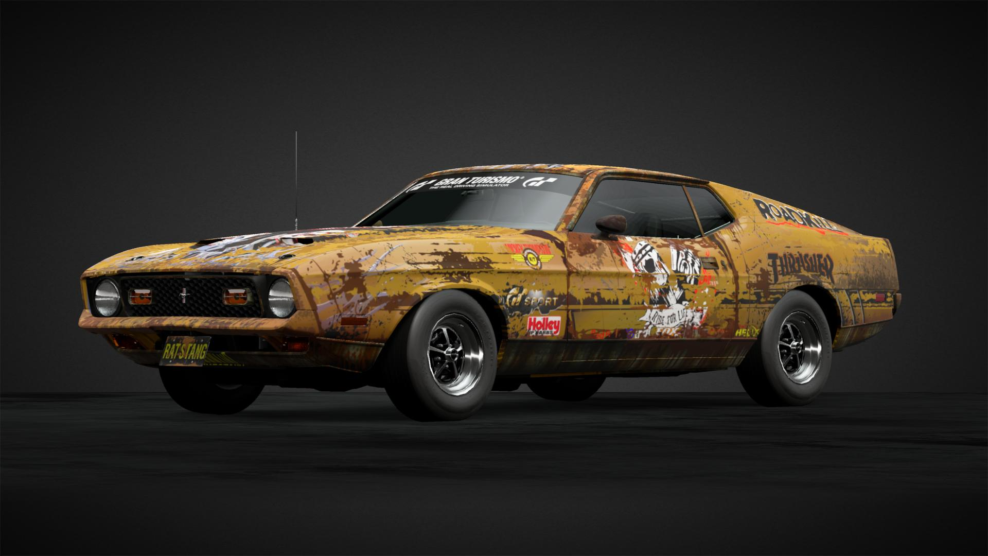 Rat stang Car Livery by EclecticRenegade munity