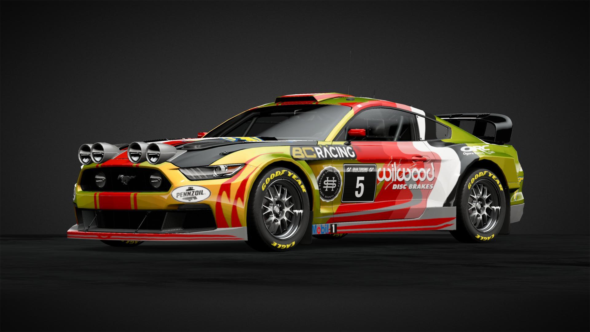 Mustang Race Team - Car Livery by Pampfi | Community | Gran
