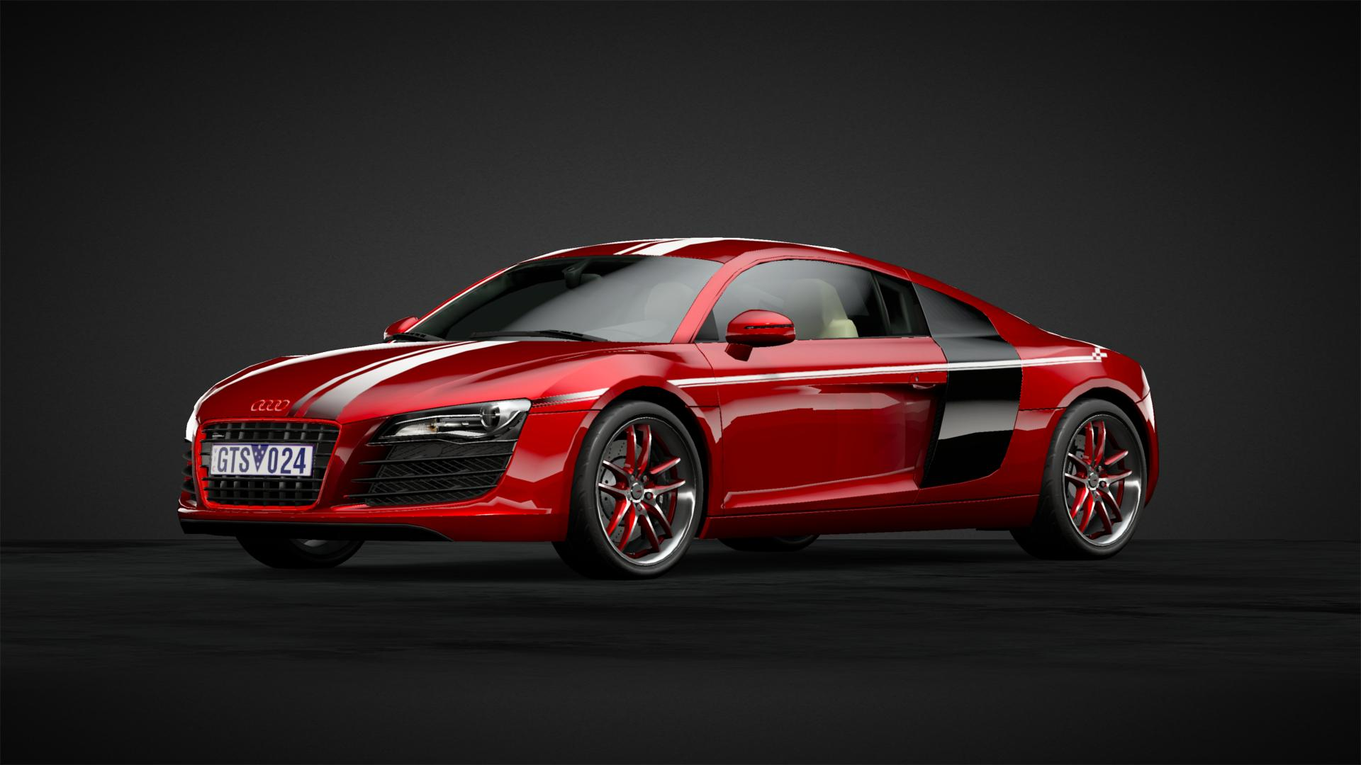 Red with racing stripes - Car Livery by GTSimo | Community