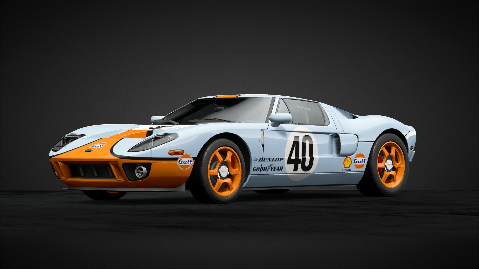 Ford Gt  Add To Collection  Car Livery Ford Gt Gulf Livery