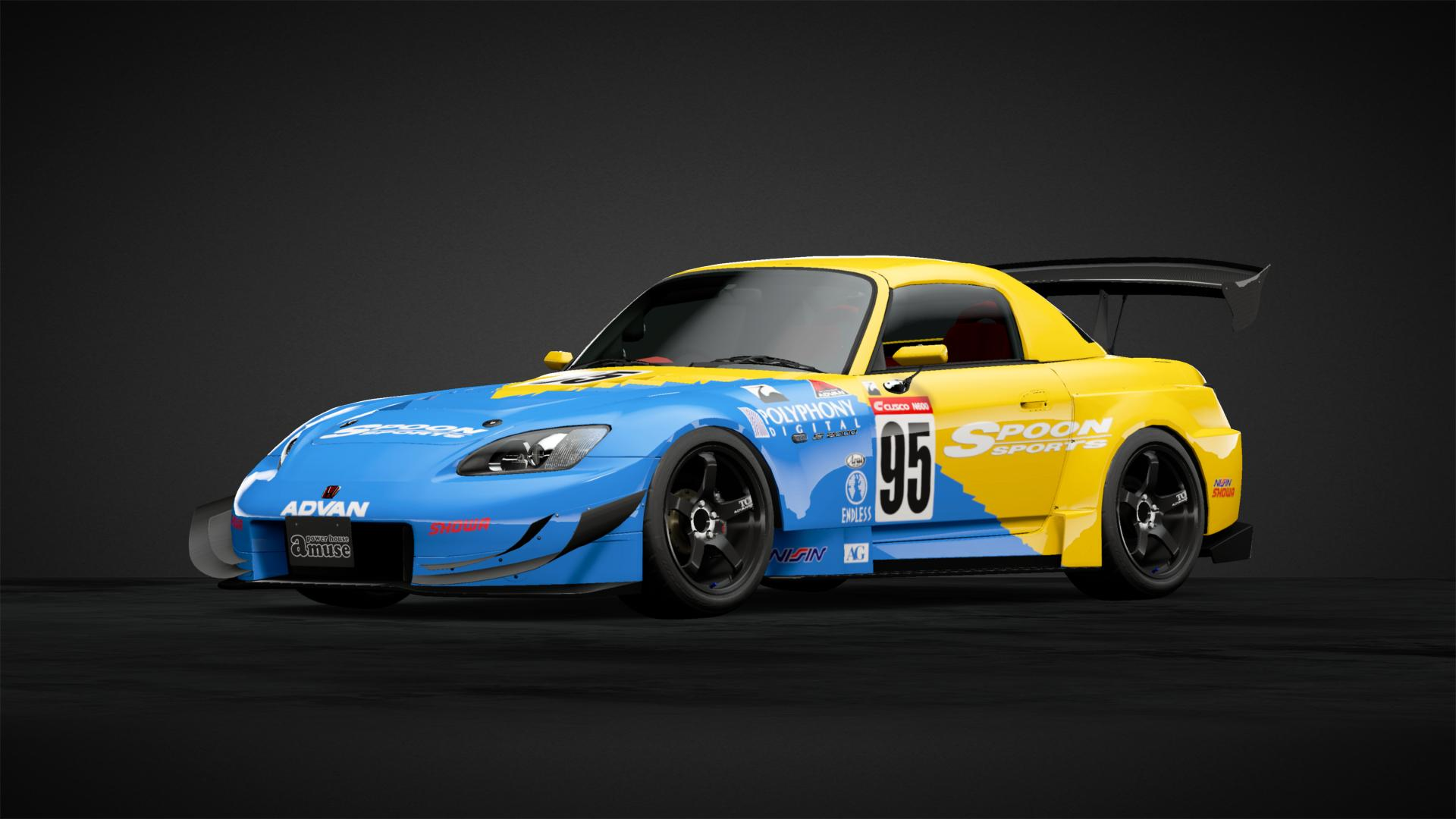 Spoon S2000 Race Car '00 - GT4 - Car Livery by syntex123