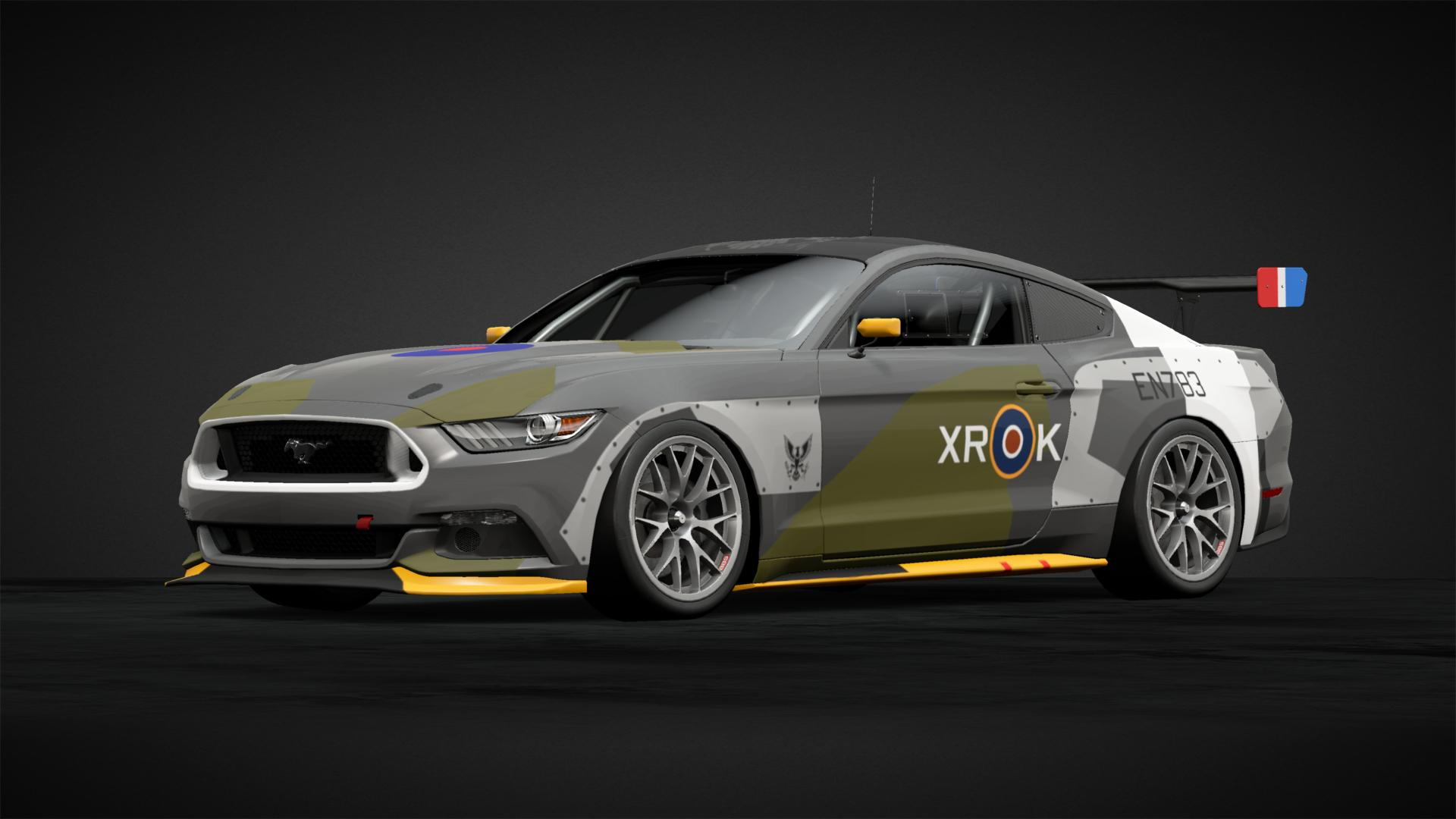 Eagle Squadron Mustang Car Livery By Icenl Community
